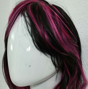 Fmei wigs. Short black and pink. NIB